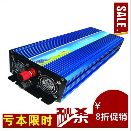 цена на FREE Shipping! 4000W Pure Sine Wave Inverter DC to AC Power Inverters, 4000 Watt Peak Power, Off Grid Wind Solar System Inverter