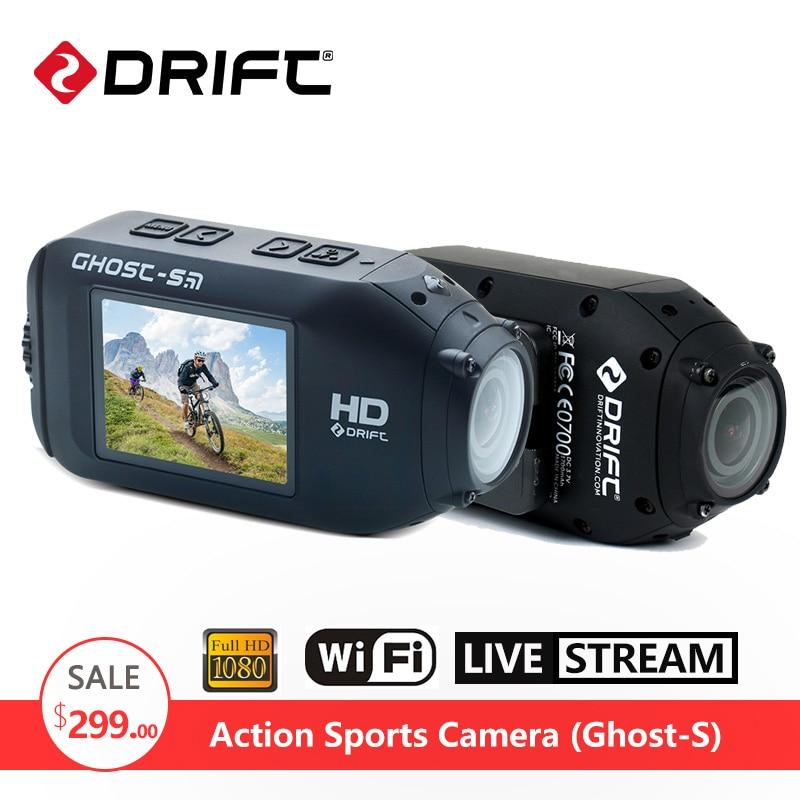 Original DRIFT Ghost S Action Camera Motorcycle Bike Helmet Sports DV go 1080P HD pro Camcorder Waterproof Screen with WiFi drift waterproof case housing for ghost s