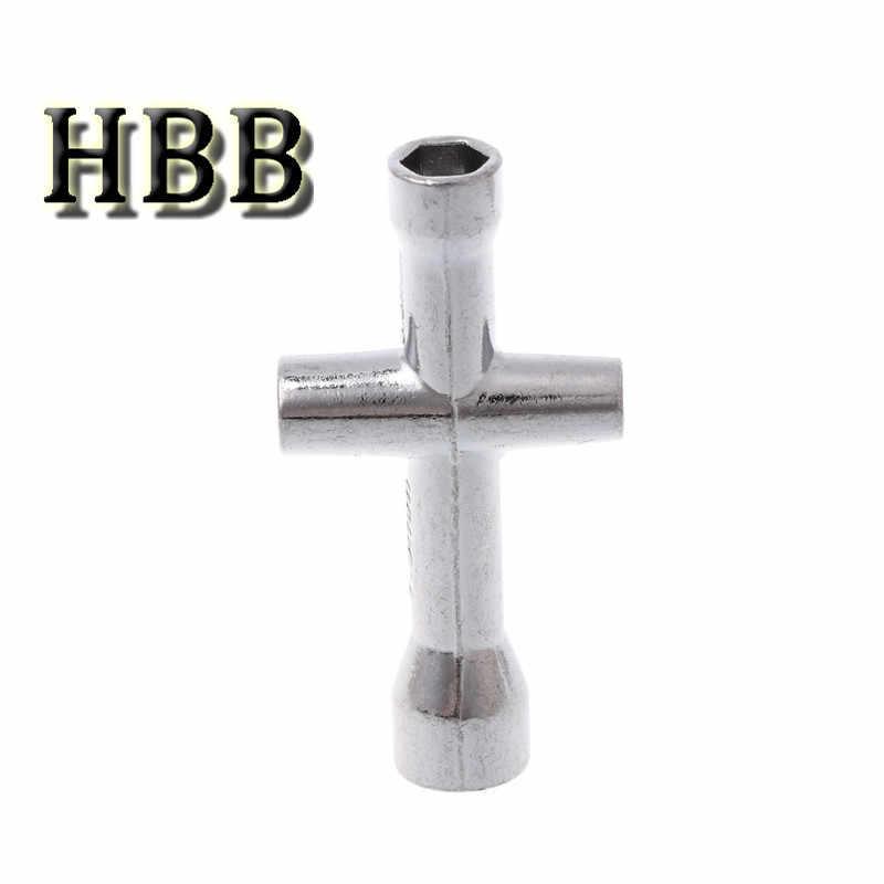 Speelgoed Accessoire 4/5/5.5/7mm Cross Wrench Mouwen voor Spanner M4 RC HSP 80132 Voor model Auto Wiel Tool