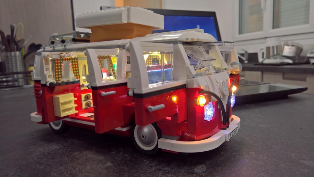 Ha condotto la luce up kit solo la luce incluso per lego technic