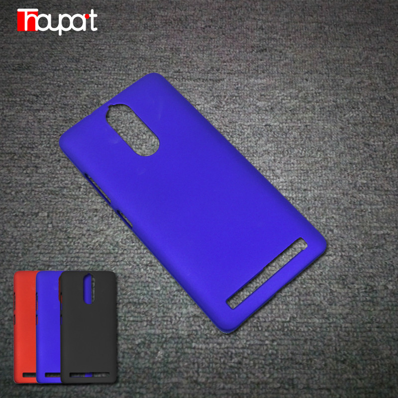 For Lenovo K5 Note Case font b Phone b font Bags Housing Frosted PC Rubber Paint
