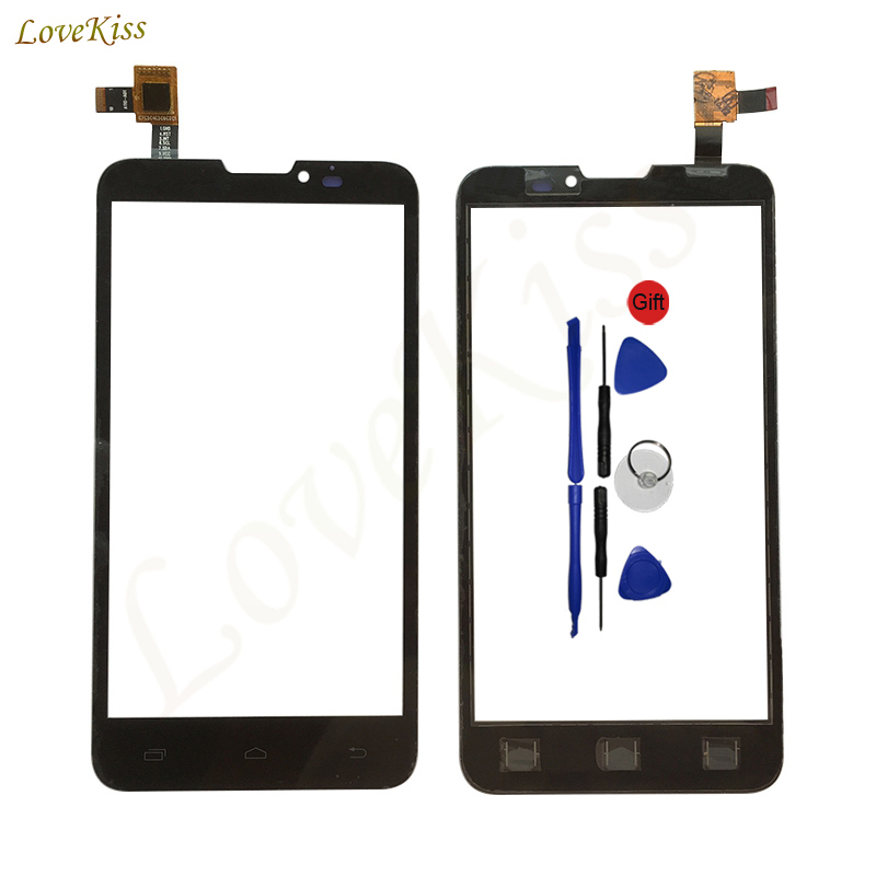 Lovekiss For Prestigio MultiPhone PAP 5300 Duo PAP5300 Touch Panel Screen Digitizer Touchscreen Sensor Front Glass Replacement