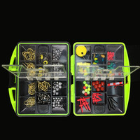Guaranteed 100 Plastic Fishing Tackle Box Including Various Types Of Fishing Gear Fishing Accessory Kit Combination