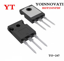 100 יח\חבילה IRFP250NPBF IRFP250 IRFP250N N CHANNAL 200V 30A MOSFET כדי 247 האיכות הטובה ביותר