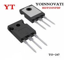 100ชิ้น/ล็อตIRFP250NPBF IRFP250 IRFP250N N CHANNAL 200V 30A MOSFET TO 247คุณภาพที่ดีที่สุด