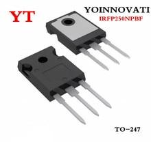 100 pcs/lot IRFP250NPBF IRFP250 IRFP250N N CHANNAL 200V 30A MOSFET À 247 Meilleure qualité