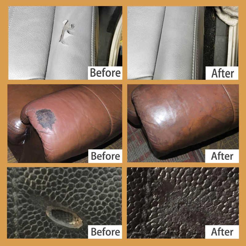 Visbella Liquid DIY Leather Vinyl Repair Kit Seat Sofa ...