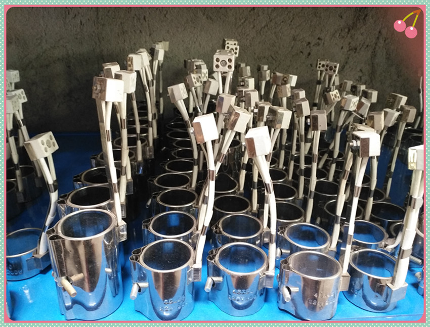 Injection molding machine nozzle flange heating ring nozzle nozzle heating ring heating coil 60/62/65//220V plastic injection molding machine in jewelry tools
