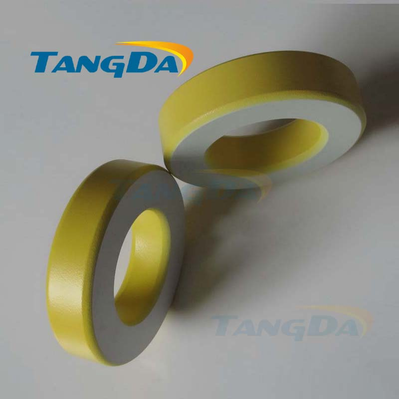 Tangda Iron powder cores T400-26B OD*ID*HT 102*57*25.4 mm 205nH/N2 75ue Iron dust core Ferrite Toroid Core toroidal yellow white 3pcs cf217a 17a 217a toner cartridge compatible for hp lj pro m102a m102w 102 mfp m130a m130fn 130 130fn m102 m130 with no chip