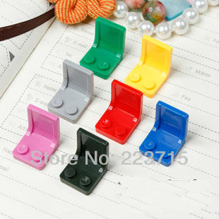 цены  Free Shipping! *chair 2x2* DIY enlighten block bricks,Compatible With Lego Assembles Particles