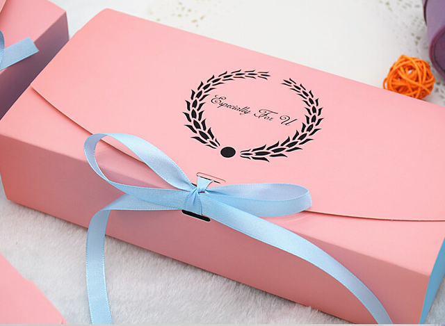 10pcs/lot Big Cute pink paper box 22.7x11x5cm Chocolate/Candy Gift Boxes Valentines Day Gift packaging square cupcake box Retail & 10pcs/lot Big Cute pink paper box 22.7x11x5cm Chocolate/Candy Gift ...
