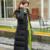 Inverno Quente Jaqueta de Algodão Acolchoado Mulheres de Slim Longa Com Capuz Zipper Casaco Senhoras Outwear Fino
