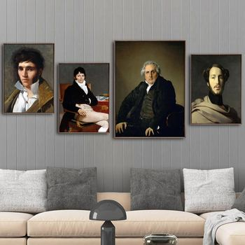 Home Decoration Print Canvas Art Wall Pictures Poster Canvas Printings Paintings French Jean-Auguste-Dominique ingres image