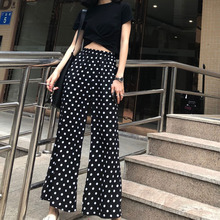 2 Piece Set Women Streetwear Summer Polka Dot Holiday Top and Pants Cheap Clothes for Women