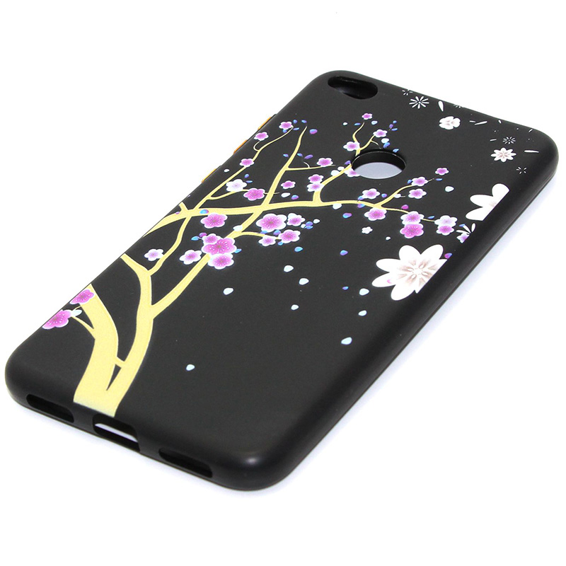 3D Relief flower silicone case huawei p8 lite 2017 honor 8 lite (29)