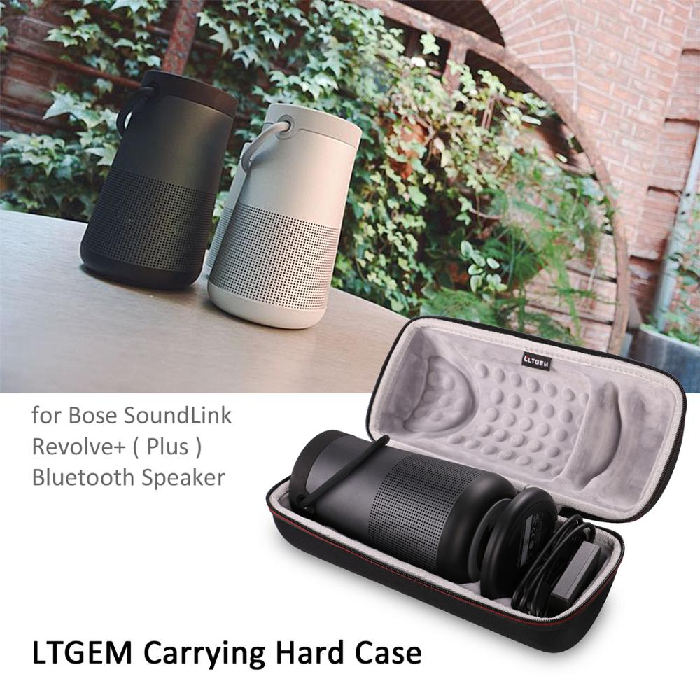 LTGEM EVA Hard Storage Travel Carrying Protective Case For Bose SoundLink Revolve+ Portable &Long-Lasting Bluetooth Speaker