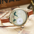 Miss Keke Quartz Watches Children 3D Clay Cartoon Watch Clock Girls Kids Bracelet Casual Leather Wrist Watches 62 montre enfant