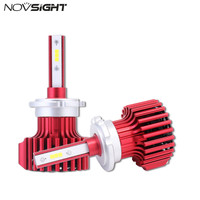 NOVSIGHT D1 D2 D3 D4 S R Car LED Headlights 60W 10000LM Set Fog Light Bulbs