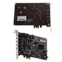 PC Computer PCI E 0105 Chip 501 Sound Track DirectSound 3D Desktop Audio Card 2019NEW