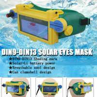 Auto Scurire Ombreggiatura Occhi Maschera Weldor Occhiali Occhiali di Saldatura Calotta del Casco di Protezione Goggle TU-shop