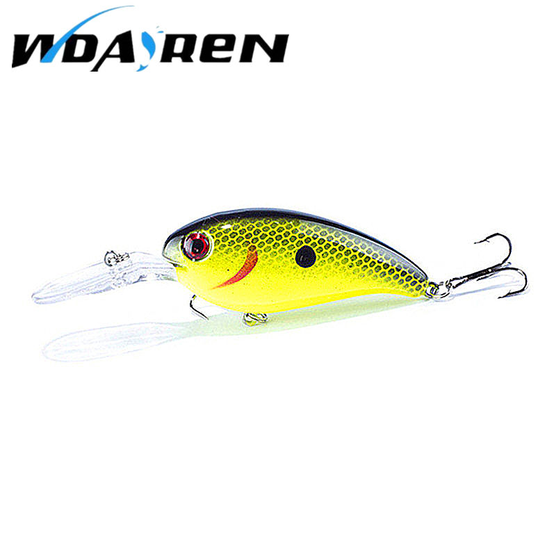 1PC Crankbait Wobblers Hard Fishing Tackle 14g 10cm Swim bait Crank Bait Bass Fishing Lures 10 Colors CB031 pike perch FA-198 tsurinoya dw18 outdoor fishing lure crank bait with 2 hook 3d eyes fishing lures crank bait crankbait tackle swim bait wobblers