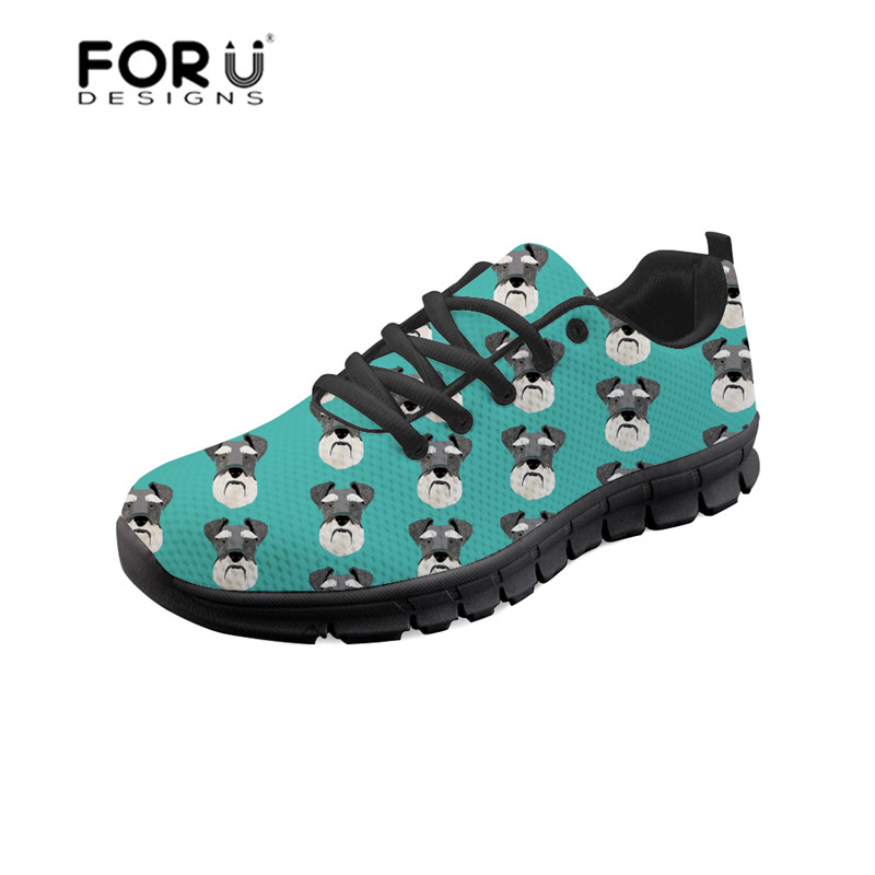 FORUDESIGNS Women's Shoes Sneakers Platform Comfortable Female Casual Mesh Flat Autumn