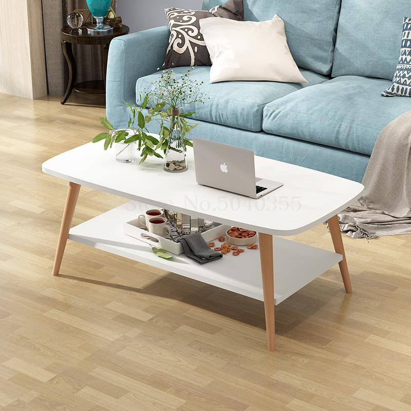 Us 97 51 19 Off Nordic Coffee Table Modern Minimalist Small Apartment Tatami Double Creative Living Room In