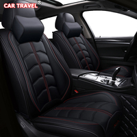 Front Rear Luxury Leather car seat cover For fiat freemont lexus gx470 chevrolet optra kia picanto volvo 850 zotye t600 cocers