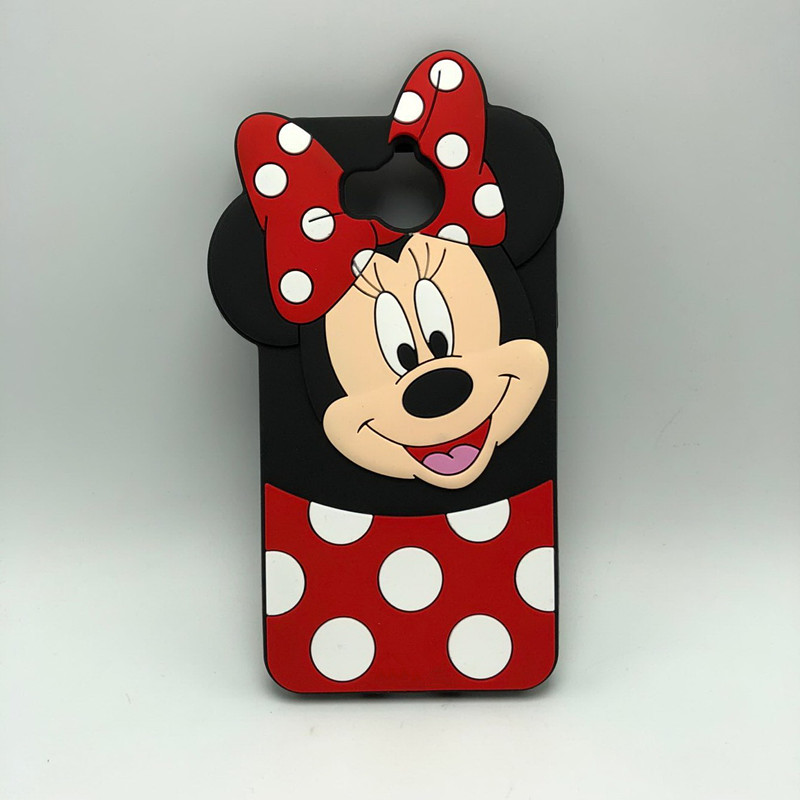 For Huawei Y5 2017 Case Cute Minnie Mouse 3D Silicon Cartoon Soft Phone Back Cover Case for Huawei Y6 2017 5.0