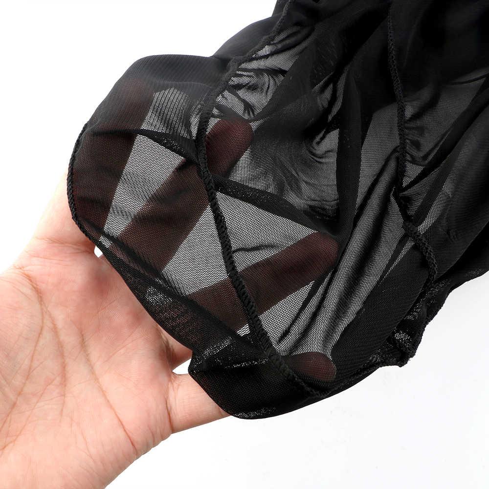 Ropa interior afrodisia erótica muñecas con encaje y Chemises Sexy pijama traje exótico negro