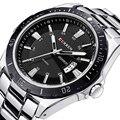 Nueva curren relojes de los hombres superiores de la marca de moda masculina reloj de cuarzo relogio masculino hombre militar del ejército deportes analógico reloj ocasional 8110