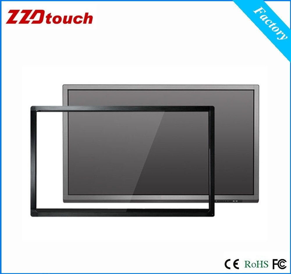 ZZDtouch 70 inch IR touch frame 10 points usb infrared touch screen overlay multi touch panel for monitor pc touchscreen table flat panel display