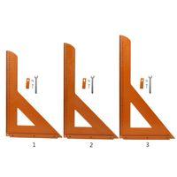 Triangle Ruler Woodworking 90 Degree Precision Millimeter Scale Aluminum Alloy Square Carpenter Measuring Tool Electric Circular