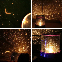 Child Projector Night Light Sky Star Moon Master Children Home Lamp Kids Baby Sleep Romantic Cupid Led Projection Table Lamp