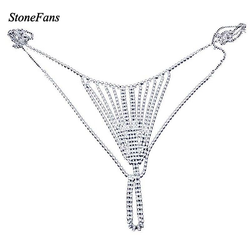 StoneFans 2018 Body Chain Jewelry For Women Statement Waist