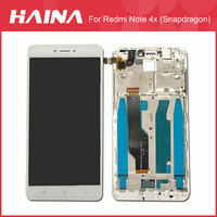 Red mi Note 4 LCD Global For Xiaomi Redmi Note 4X LCD Screen Display Touch Screen Digitizer Assembly w/ Frame For Snapdragon 625