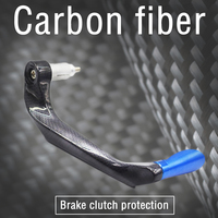 Motorcycle Carbon LEVER PROTECTION IN CASE OF ACCIDENTAL CONTACT For BMW DUCATI HONDA KAWASAKI SUZUKI KTM YAMAHA APRILIA TRIUMPH