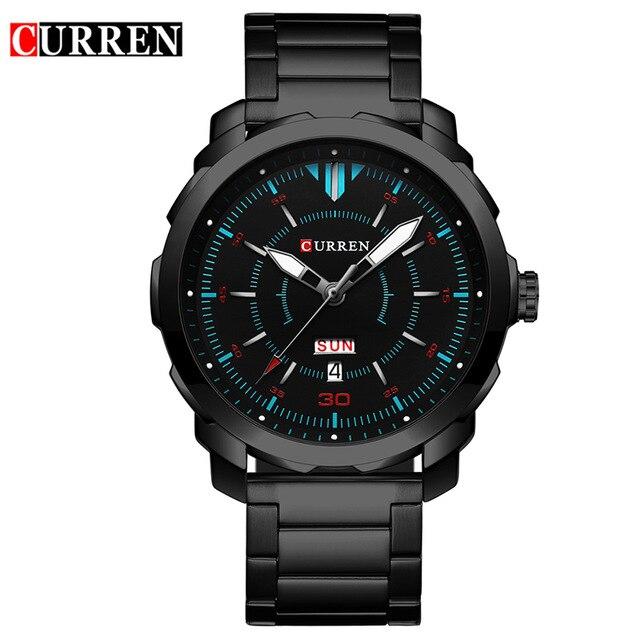 Curren Watches 2017 mens watches top brand luxury relogio masculino curren quartzwatch fashion casual watch 8266 curren m8091