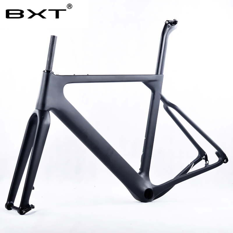 BXT factory outlet T800 Carbon Road MTB Gravel Bike Frame thru axle disc brake DI2 Cyclocross Gravel Carbon Bicycle Frameset шампунь shamtu экстракт фруктов 360мл д всех типов волос