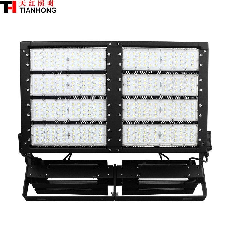 800 W LED stade éclairage LED d'inondation lumière AC85-305V LED haute-pôle lamp800W avec 106000lm LED Haute Mât Lampe
