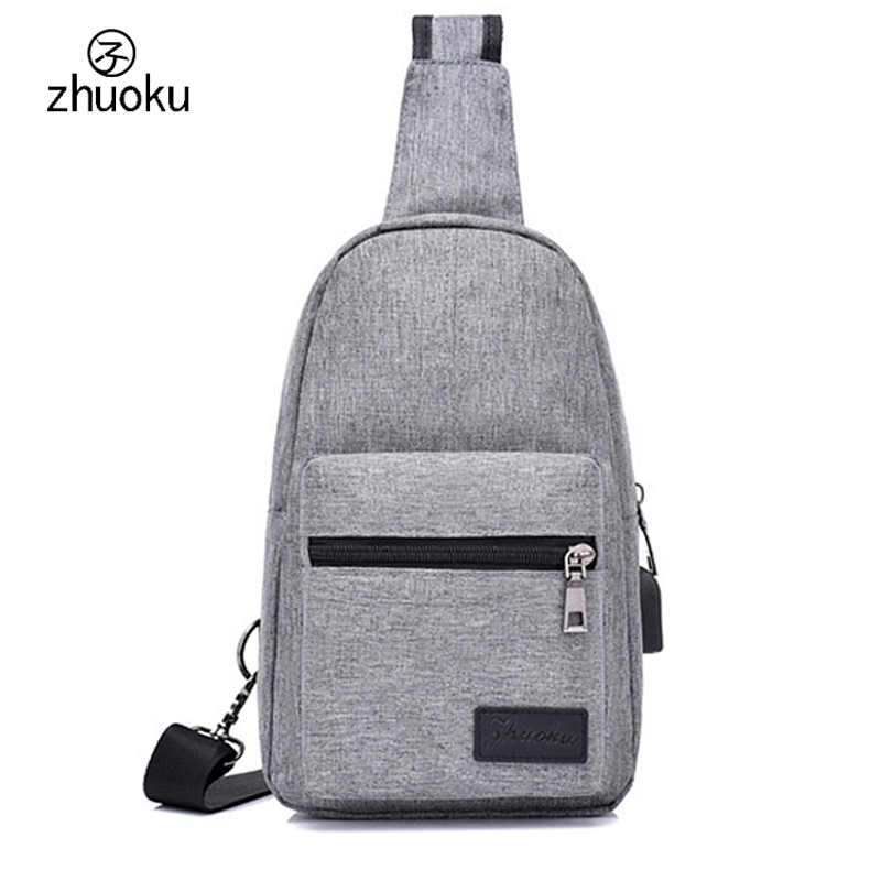 Bags for women 2017 crossbody bags for women MEN Shoulder Messenger bags Chest bag purse USB Charging smart Anti theft ZK7114