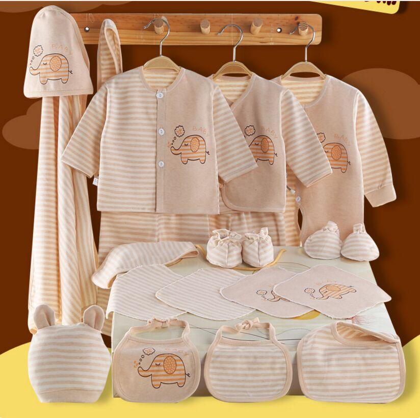 100% Cotton Newborn Baby Set Baby Clothes Summer Set Newborn Baby Long Sleeve Autumn Thick Baby Set 0-6 Months warm thicken baby rompers long sleeve organic cotton autumn
