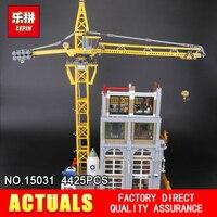 Лепин 15031 4425 шт. натуральная MOC серии классический строительной площадке строительные блоки кирпичи игрушки модель как рождественские пода