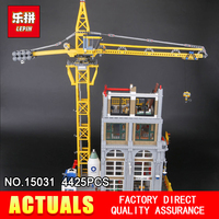 Lepin 15031 4425Pcs Genuine MOC Series The Classic Construction site Building Blocks Bricks Toys Model as Christmas Gifts