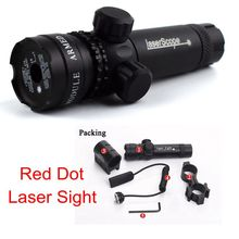 Tactical 5mw Red Laser Sight Rifle Gun Scope Riflescope Designator 20mm Mount Tail Switch Airsoft Hunting Pressure Switch nd3 50 night vision green laser designator flashlight w scope mount remote switch