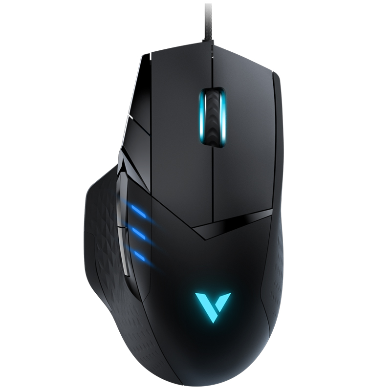 RAPOO VT300 IR Optical Gaming Mouse USB Desktop PC Wired Mouse LED Multi color e sport