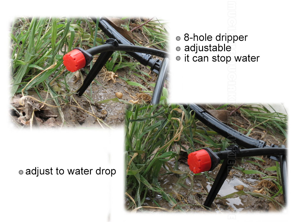 HTB1S34phQvoK1RjSZFwq6AiCFXaj MUCIAKIE 500-10PCS Adjustable Irrigation Misting Micro Flow Dripper Drip Head 1/4'' Hose Garden Sprinklers Garden Watering Tool