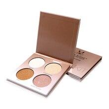 Highlighter Palette 4 Colors Makeup Glow Kit