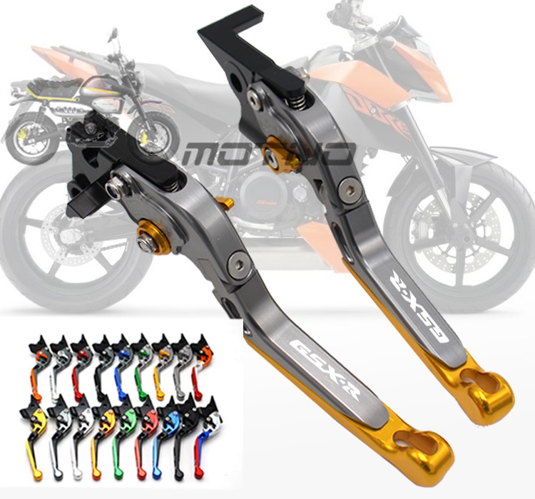 For Suzuki GSXR 600 750 2006 2007 2008 2009 2010 K6 K8 GSXR1000 2005-2006 K5 Adjustable Folding Extendable Brake Clutch LeversFor Suzuki GSXR 600 750 2006 2007 2008 2009 2010 K6 K8 GSXR1000 2005-2006 K5 Adjustable Folding Extendable Brake Clutch Levers