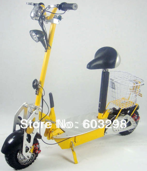 CE 36V/12AH 500w-800w Portable Foldable e-scooter, e-scooter High-tensile Steel removable seat - Suiqi Electric Vehicles Co., Ltd. [Online Store 603298] store